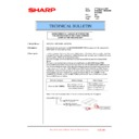 Sharp MX-5500N, MX-6200N, MX-7000N (serv.man197) Technical Bulletin