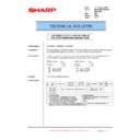 Sharp MX-5500N, MX-6200N, MX-7000N (serv.man199) Technical Bulletin
