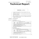 Sharp MX-5500N, MX-6200N, MX-7000N (serv.man203) Technical Bulletin