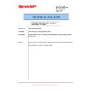 Sharp MX-5500N, MX-6200N, MX-7000N (serv.man205) Technical Bulletin