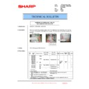 Sharp MX-5500N, MX-6200N, MX-7000N (serv.man211) Technical Bulletin