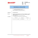 Sharp MX-5500N, MX-6200N, MX-7000N (serv.man214) Technical Bulletin