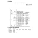 Sharp MX-5500N, MX-6200N, MX-7000N (serv.man215) Regulatory Data