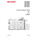 Sharp MX-5500N, MX-6200N, MX-7000N (serv.man5) Handy Guide