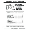 Sharp MX-5500N, MX-6200N, MX-7000N (serv.man75) Service Manual