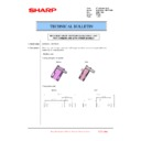 Sharp MX-6240N, MX-7040N (serv.man107) Technical Bulletin