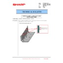 Sharp MX-6240N, MX-7040N (serv.man108) Technical Bulletin