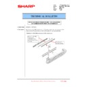 Sharp MX-6240N, MX-7040N (serv.man110) Technical Bulletin