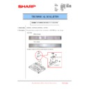 Sharp MX-6240N, MX-7040N (serv.man112) Technical Bulletin
