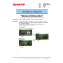 Sharp MX-6240N, MX-7040N (serv.man113) Technical Bulletin