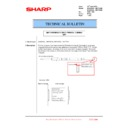 Sharp MX-6240N, MX-7040N (serv.man116) Technical Bulletin