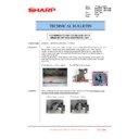 Sharp MX-6240N, MX-7040N (serv.man118) Technical Bulletin