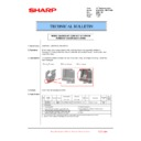Sharp MX-6240N, MX-7040N (serv.man120) Technical Bulletin