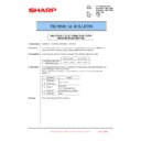 Sharp MX-6240N, MX-7040N (serv.man121) Technical Bulletin