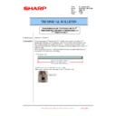 Sharp MX-6240N, MX-7040N (serv.man127) Technical Bulletin