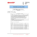 Sharp MX-6240N, MX-7040N (serv.man136) Technical Bulletin