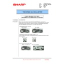 Sharp MX-6240N, MX-7040N (serv.man137) Technical Bulletin