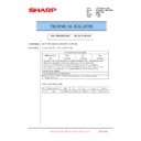 Sharp MX-6240N, MX-7040N (serv.man139) Technical Bulletin