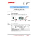 Sharp MX-6240N, MX-7040N (serv.man140) Technical Bulletin
