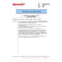 Sharp MX-6240N, MX-7040N (serv.man141) Technical Bulletin