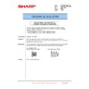 Sharp MX-6240N, MX-7040N (serv.man142) Technical Bulletin