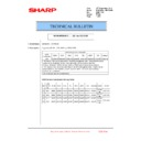 Sharp MX-6240N, MX-7040N (serv.man143) Technical Bulletin