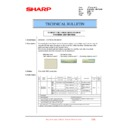 Sharp MX-6240N, MX-7040N (serv.man145) Technical Bulletin