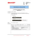 Sharp MX-6240N, MX-7040N (serv.man147) Technical Bulletin