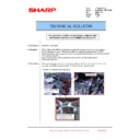 Sharp MX-6240N, MX-7040N (serv.man149) Technical Bulletin