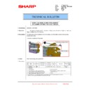 Sharp MX-6240N, MX-7040N (serv.man150) Technical Bulletin