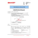 Sharp MX-6240N, MX-7040N (serv.man151) Technical Bulletin