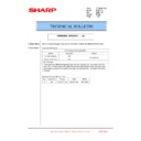 Sharp MX-6240N, MX-7040N (serv.man152) Technical Bulletin