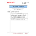 Sharp MX-6240N, MX-7040N (serv.man153) Technical Bulletin