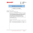 Sharp MX-6240N, MX-7040N (serv.man154) Technical Bulletin