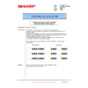 Sharp MX-6240N, MX-7040N (serv.man155) Technical Bulletin