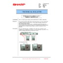 Sharp MX-6240N, MX-7040N (serv.man156) Technical Bulletin