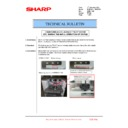 Sharp MX-6240N, MX-7040N (serv.man157) Technical Bulletin