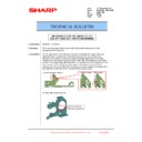 Sharp MX-6240N, MX-7040N (serv.man158) Technical Bulletin