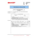 Sharp MX-6240N, MX-7040N (serv.man159) Technical Bulletin