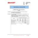 Sharp MX-6240N, MX-7040N (serv.man160) Technical Bulletin