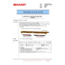 Sharp MX-6240N, MX-7040N (serv.man161) Technical Bulletin