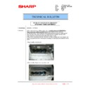 Sharp MX-6240N, MX-7040N (serv.man163) Technical Bulletin