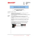 Sharp MX-6240N, MX-7040N (serv.man166) Technical Bulletin