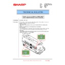 Sharp MX-6240N, MX-7040N (serv.man167) Technical Bulletin