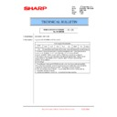 Sharp MX-6240N, MX-7040N (serv.man169) Technical Bulletin