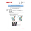 Sharp MX-6240N, MX-7040N (serv.man170) Technical Bulletin