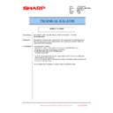 Sharp MX-6240N, MX-7040N (serv.man172) Technical Bulletin