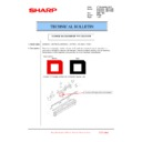 Sharp MX-6240N, MX-7040N (serv.man87) Technical Bulletin