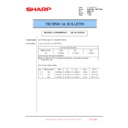 Sharp MX-6240N, MX-7040N (serv.man91) Technical Bulletin