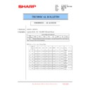 Sharp MX-6240N, MX-7040N (serv.man92) Technical Bulletin